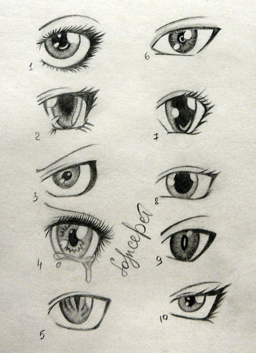 Amazing Anime Eyes Pencil Courses Sketch Of Anime Boys Eyes - Buscar Con Google | Drawing Tips In 2019 Picture