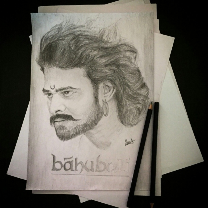 Amazing Bahubali 2 Pencil Sketch Easy Bahubali Sketch | Drawing |Prabhas Sketch| Pencil Work Follow For Image