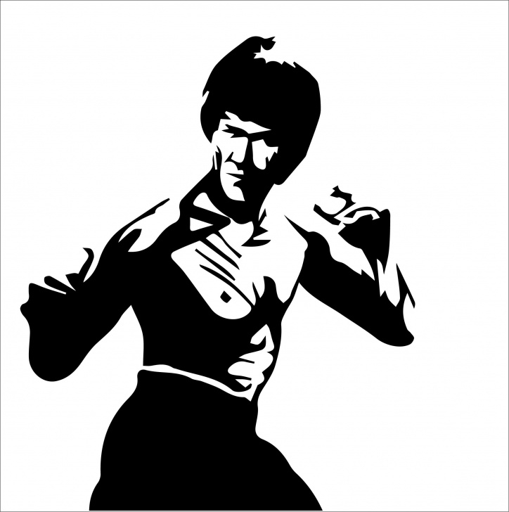 Amazing Bruce Lee Stencil Art for Beginners Pin By Sophia Norin On Gami Design Studio In 2019 | Bruce Lee Art Pictures