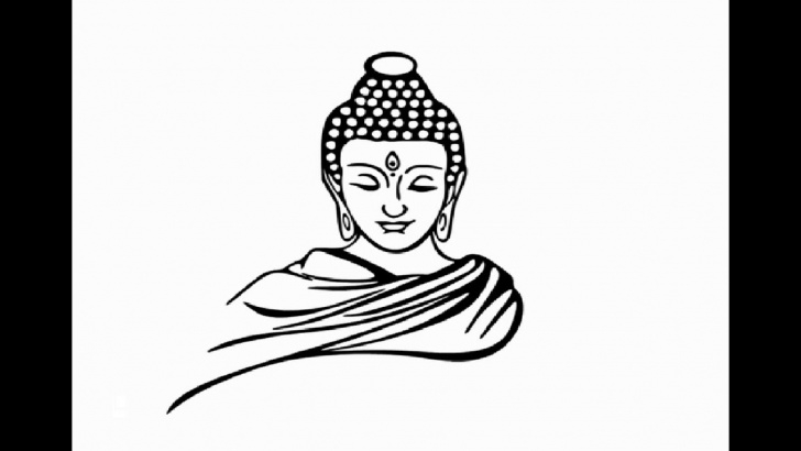 Amazing Buddha Pencil Drawing Lessons How To Draw Gautam Buddha Face Pencil Drawing Step By Step Images