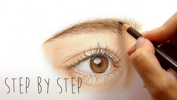 Amazing Colored Pencil Drawings Step By Step Techniques for Beginners Step By Step | How To Draw And Color A Realistic Eye With Colored Pencils |  Emmy Kalia Photo