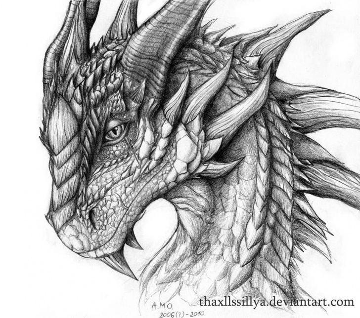 Amazing Dragon Pencil Drawing Easy Pencil Drawings Of Dragons 25 Stunning And Realistic Dragon Drawings Picture