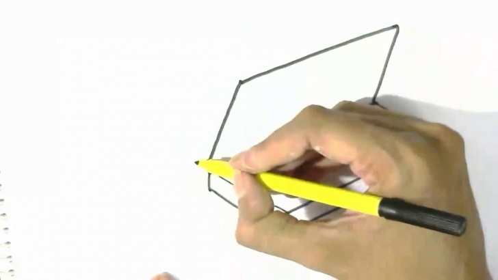 Amazing Draw A Pencil Free How To Draw Pencil Box- In Easy Steps For Children. Beginners Images