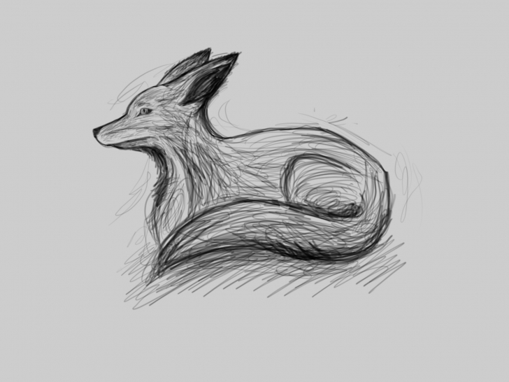 Amazing Fox Pencil Sketch Step by Step Fox Sketch Drawing At Paintingvalley | Explore Collection Of Fox Pic