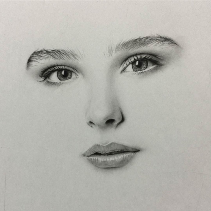 Amazing Great Pencil Sketches For Female Courses Face Pencil Sketch At Paintingvalley | Explore Collection Of Photos
