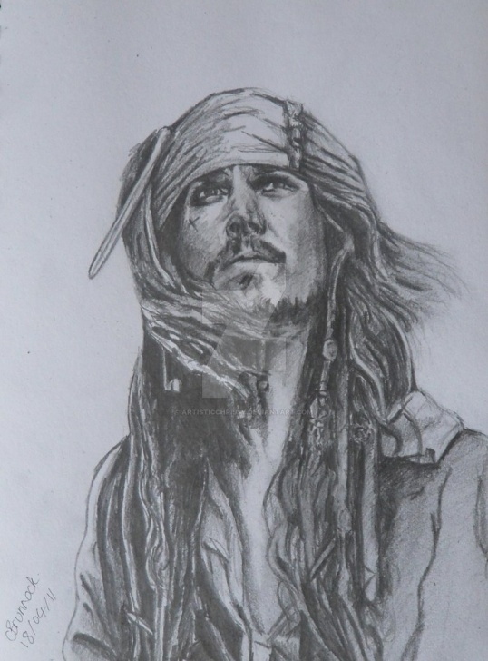Amazing Jack Sparrow Pencil Drawing Step by Step Pencil Drawing Of Jack Sparrow By Artisticchrissy On Deviantart Images