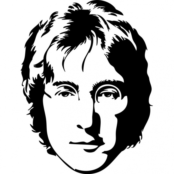Amazing John Lennon Stencil Art Tutorial Pin By Kylie Mcfarland On Prints In 2019 | John Lennon, Jhon Lennon Photos