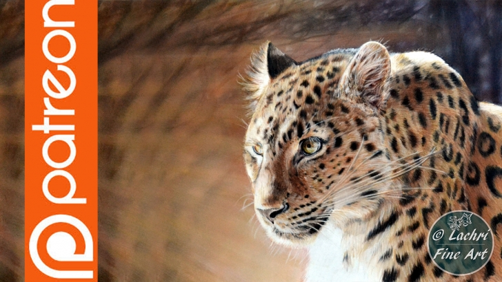 Amazing Lachri Fine Art Colored Pencil Ideas Patreon - Leopard Colored Pencil Lesson - Lachri Fine Art Pictures