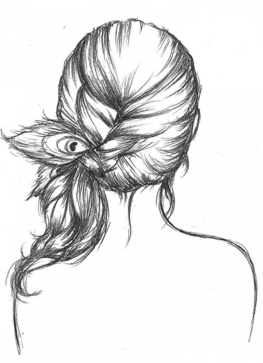Amazing Peacock Feather Pencil Sketch Lessons Peacock Feather Tumblr Drawing Images & Pictures - Becuo | Fashion Photo