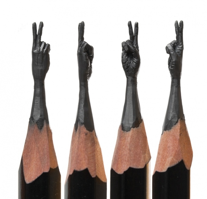 Amazing Pencil Carving Pencils Techniques for Beginners Delicate Pencil Lead Sculptures Carved By Salavat Fidai   Colossal Photos