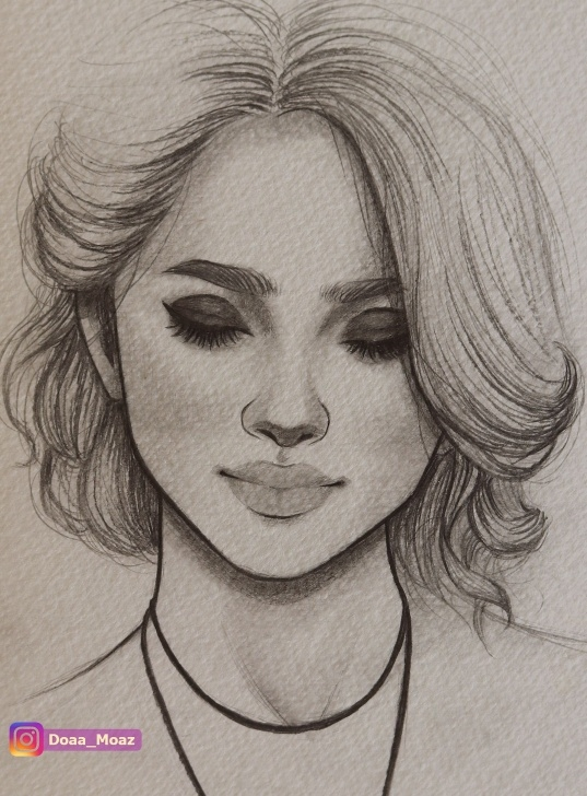 Amazing Pencil Drawing Instagram Tutorials Portrait Sketch With Pencil ♥ Click To See More On Instagram Pictures