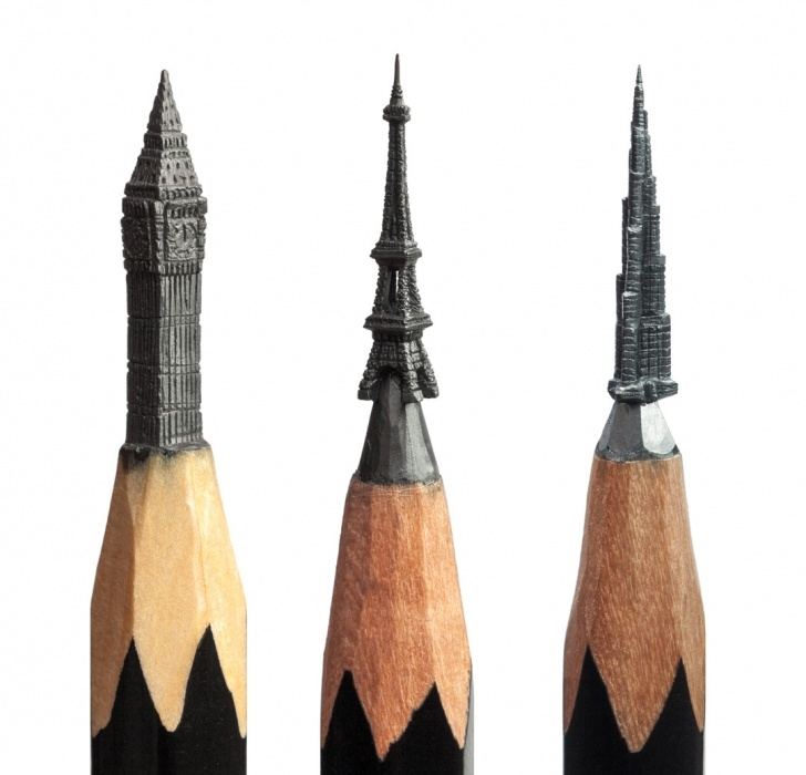 Amazing Pencil Lead Art Step by Step Delicate Pencil Lead Sculptures Carved By Salavat Fidai | Colossal Images