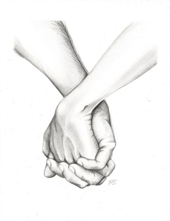 Amazing Pencil Sketches Of Couples Holding Hands Tutorials Pin By Alli Cat On Art In 2019 | How To Draw Hands, Pencil Drawings Picture