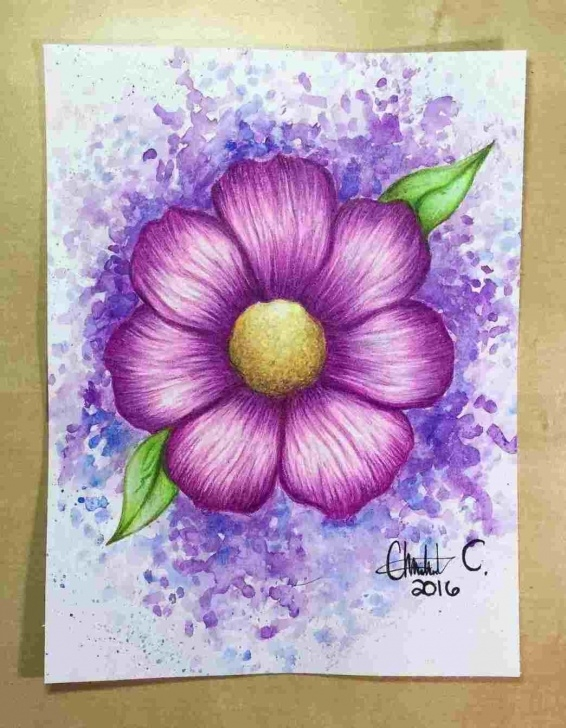 Amazing Simple Colour Pencil Drawing Techniques for Beginners Colored Pencil Art Easy Pic