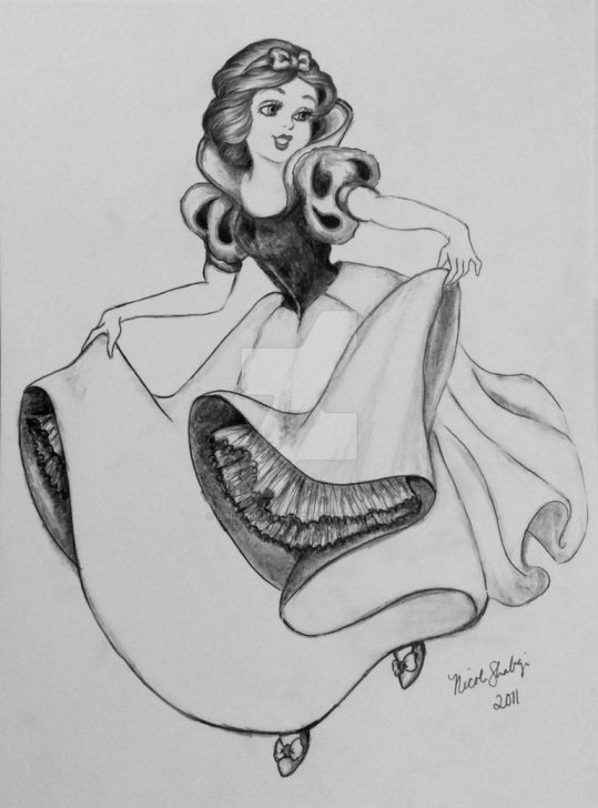 Amazing Snow White Pencil Drawing Step by Step Snow White By Linus108Nicole | Drawings (Sorted For Other Folders Image