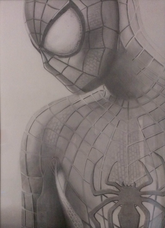 Amazing Spiderman Drawings In Pencil Easy Simple Amazing Spiderman 2 Graphite Pencil Drawing | Drawings In 2019 Image