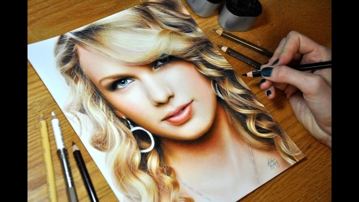 Amazing Taylor Swift Pencil Drawing Techniques for Beginners Drawing Taylor Swift Pics