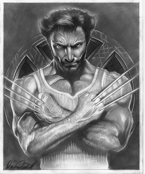 Amazing Wolverine Pencil Drawing Tutorial Cool Wolverine Drawing Sketch And Wolverine Pencil Sketch Wolverine Images