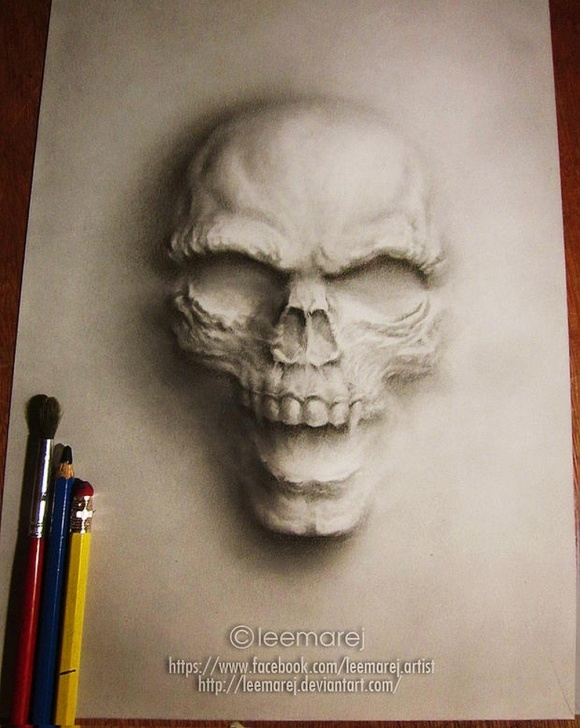 Amazing Charcoal Drawings