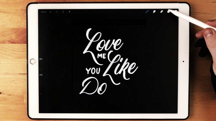 Apple Pencil Calligraphy