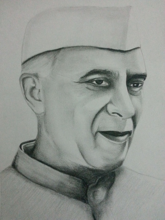Awesome Art Using Pencil Step by Step Drawing Of Jawaharlal Nehru Using Pencils. Visit And Subscribe Our Photos