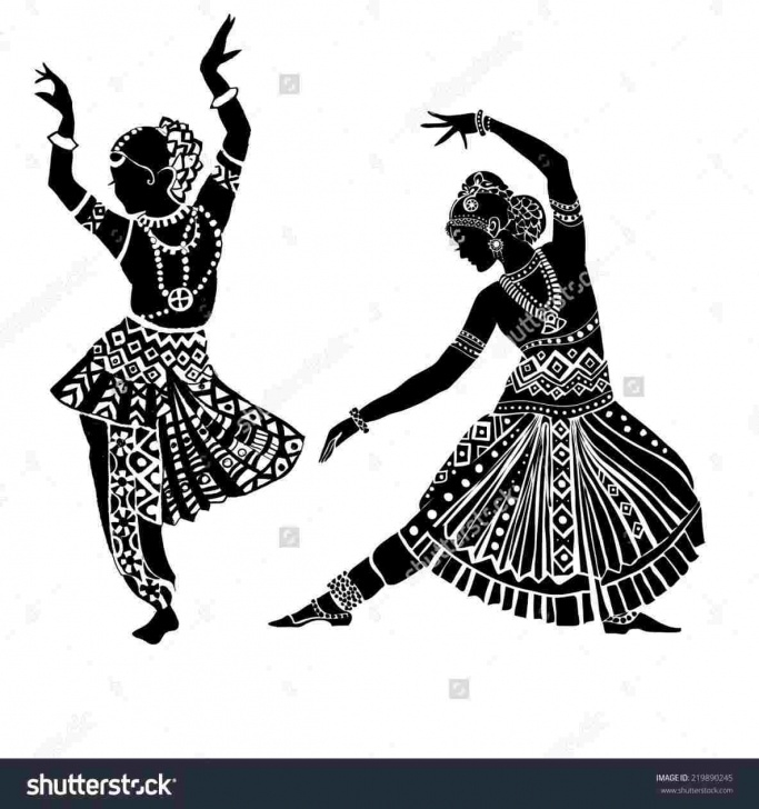 Awesome Classical Dance Pencil Drawing Courses Simple Classical Dance Pencil Drawing Image