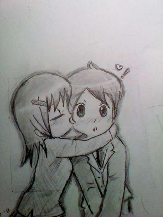 Awesome Cute Pencil Drawings Courses Cute Pencil Drawings Of Love Cute Chibi Kiss By Sux On Deviantart Pictures