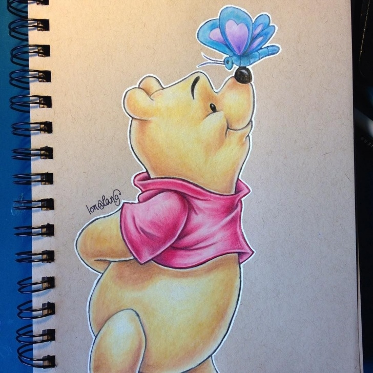 Disney Colored Pencil Drawings