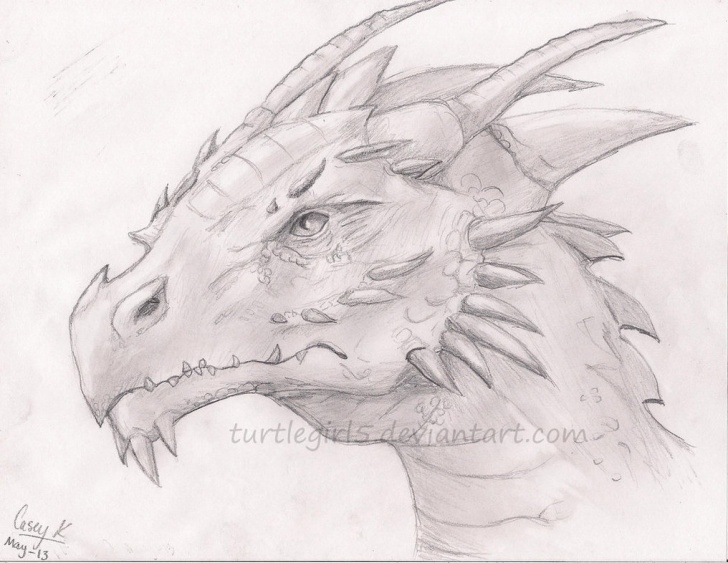 Awesome Dragon Pencil Drawing Tutorials Free Dragon Drawings, Download Free Clip Art, Free Clip Art On Images