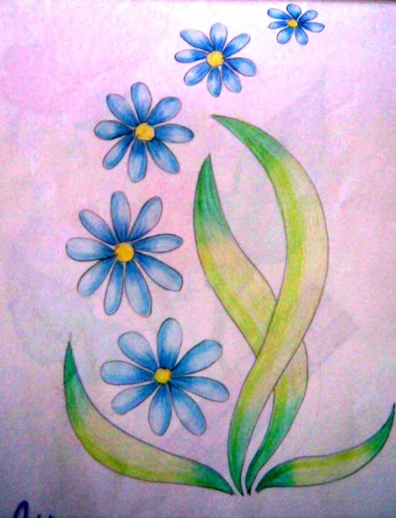 Awesome Easy Colored Pencil Drawings Of Flowers Ideas Simple Colored Pencil Drawings | Back > Pix For > Easy Colored Images