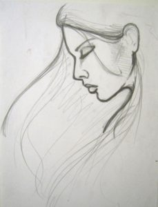 Awesome Easy Sketches With Pencil Techniques Easy Portrait Drawing - Google Search | Grandmas Picture | Easy Picture