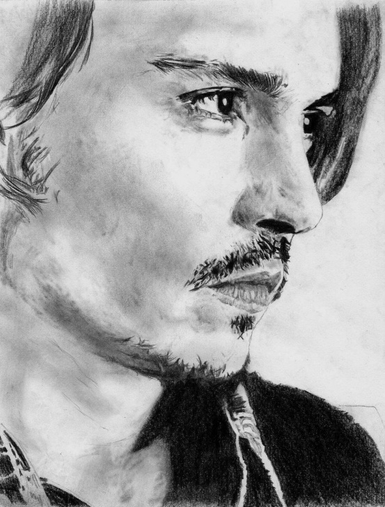 Awesome Johnny Depp Sketch Techniques for Beginners Love Johnny Depp | Johnny Depp Beautiful Man In 2019 | Johnny Depp Photos