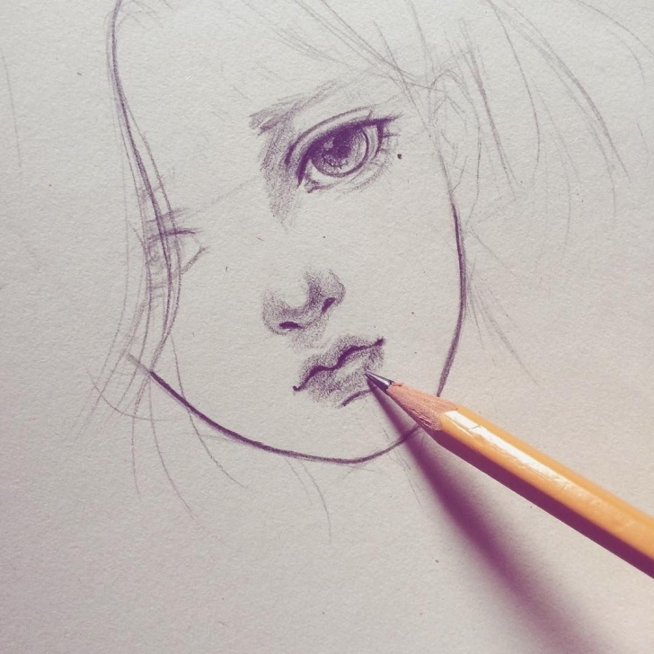 Awesome Manga Sketches In Pencil Techniques for Beginners Sketch ❤️❤️❤️ #sketch #pencil #manga #anime #art #artwork Pictures