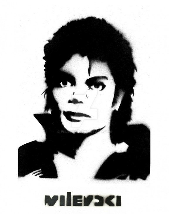 Awesome Michael Jackson Stencil Art Techniques Wilevski Stencil-Art Michael Jackson Thriller By Wilevski On Deviantart Picture
