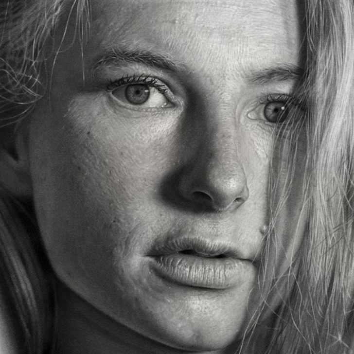 Awesome Oil Pencil Drawing Techniques Dirk Dzimirsky: Hyper-Realistic Pencil Drawings & Oil Paintings Picture