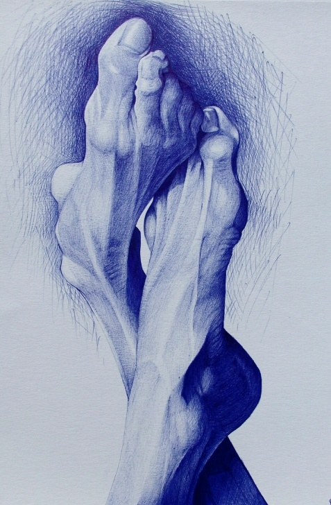 Awesome Pencil And Pen Drawings Ideas Ballpoint Pen Drawings | Pencil Drawings By Alexandra Miron | Artsy Pics