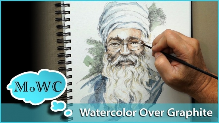 Awesome Pencil And Watercolor Free Using Watercolor Over Pencil And Graphite Drawings Photos