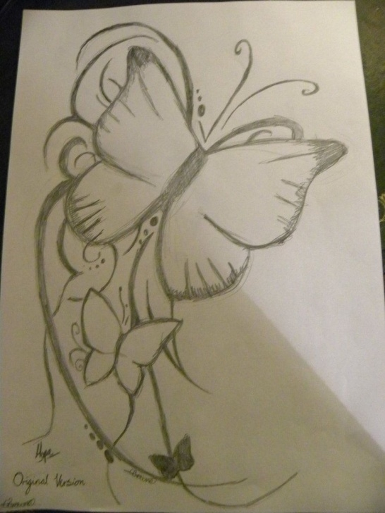 Awesome Pencil Art For Beginners Courses Butterfly Tattoo Pencil By Thelastsmile09 On Deviantart | Sketches Pictures
