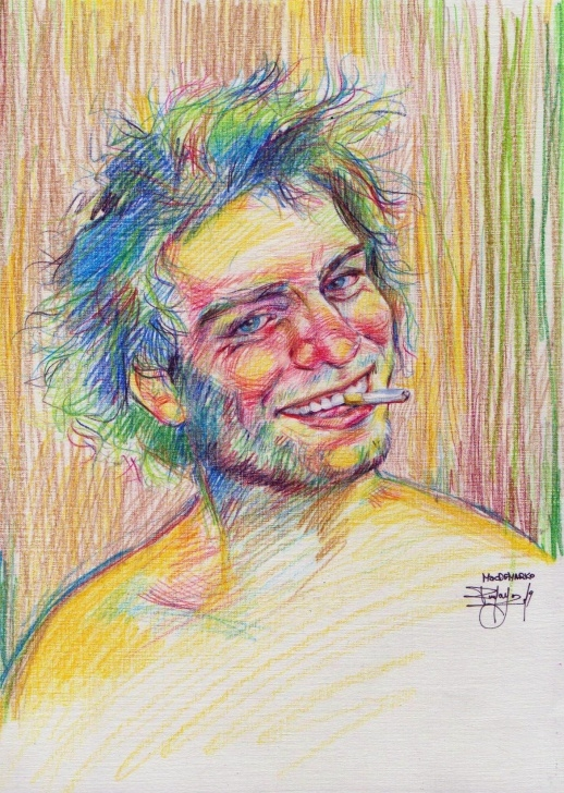 Awesome Pencil Crayon Art for Beginners Pencil Crayon On Point : Macdemarco Image