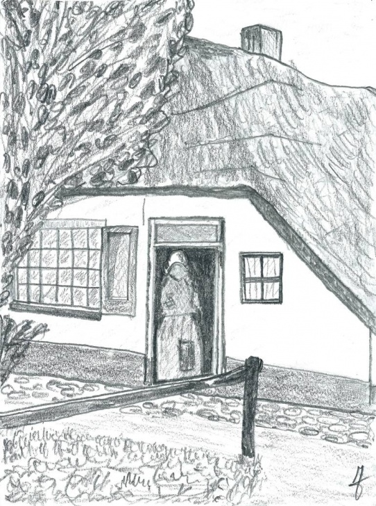 Awesome Pencil Drawing Of Hut Techniques for Beginners Old Hut Drawing Photos