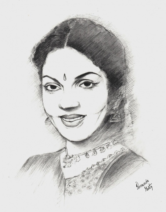 Pencil Sketch Of Famous Indian Personalities