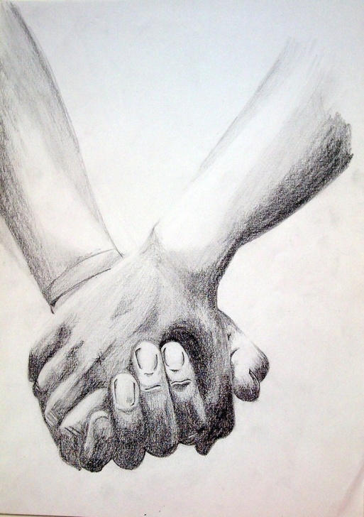 Awesome Pencil Sketches Of Couples Holding Hands Techniques Sketches Of Couples Holding Hands At Paintingvalley | Explore Photos
