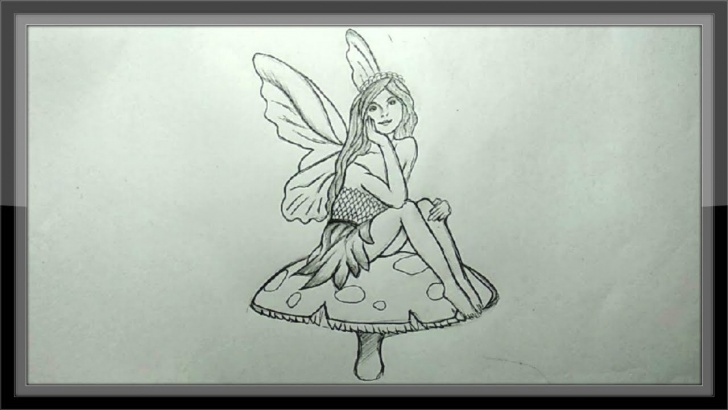Awesome Pencil Sketches Of Fairies And Angels Tutorials Pencil Drawing - How To Draw A Fairy Easy Pictures