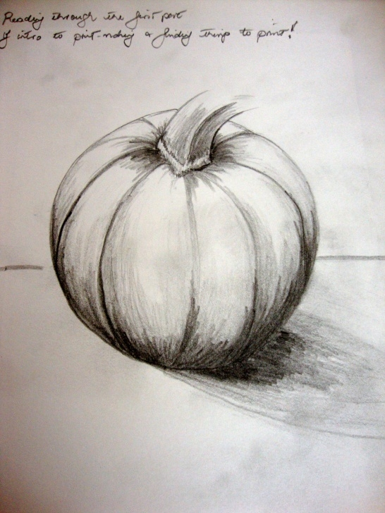 Awesome Pencil Sketches Of Fruits And Vegetables Ideas Pencil Sketch Pumpkin - Google Search | Pumpkin | Pumpkin Drawing Picture