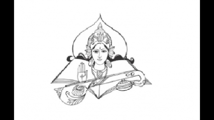 Awesome Saraswati Pencil Sketch Lessons How To Draw Goddess Saraswati Maa Pencil Drawing Step By Step Pic