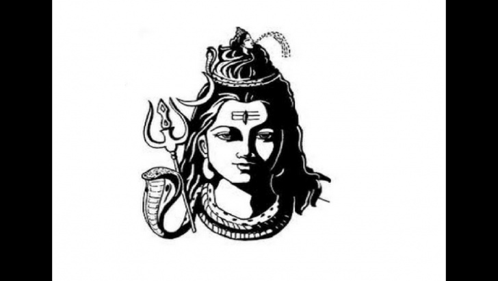 Awesome Shiva Pencil Art Techniques for Beginners How To Draw Lord Shiva Face Pencil Drawing Step By Step Pictures