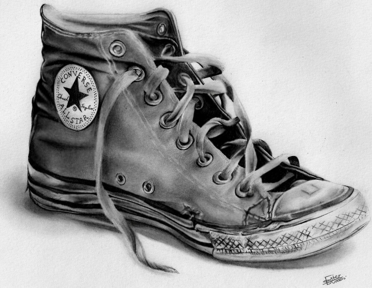 Awesome Shoe Pencil Drawing Lessons Keep Calm Tank Top In 2019 | Drawing | Pencil Drawings, Pencil Art Pictures