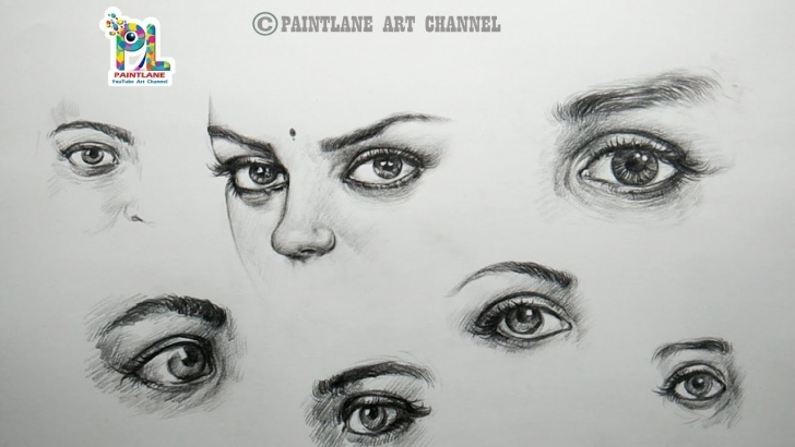 Awesome Simple Pencil Shading Drawings Techniques for Beginners How To Draw And Shade Eyes With Easy And Simple Pencil Strokes | Step By  Step Photo