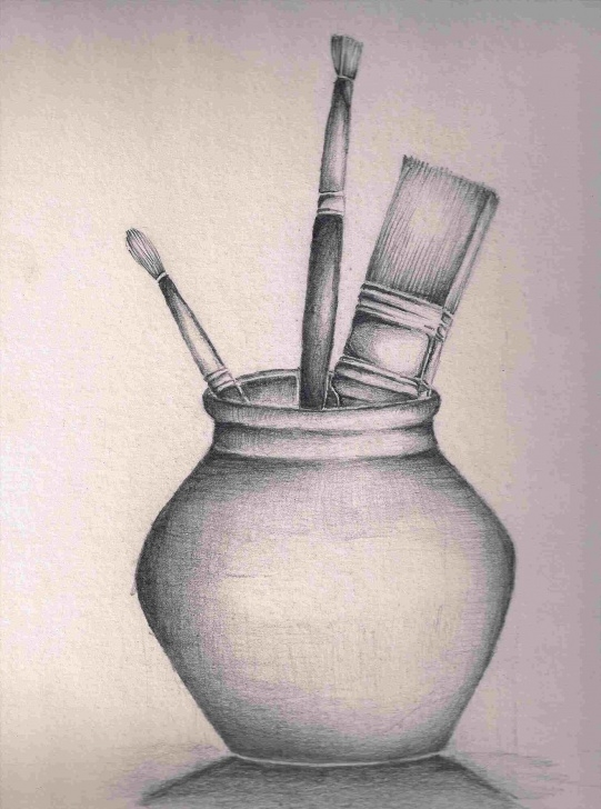 Awesome Simple Still Life Drawing Free How Simple Still Life Drawings In Pencil Kids To Draw | Drawing Work Photos