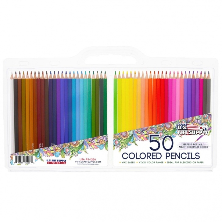Awesome Soft Grade Pencil Techniques 50 Piece Adult Coloring Book Artist Grade Soft Core Colored Pencil Pictures